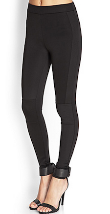 Black Scuba Leggings