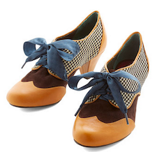 Fall oxford lace up shoes