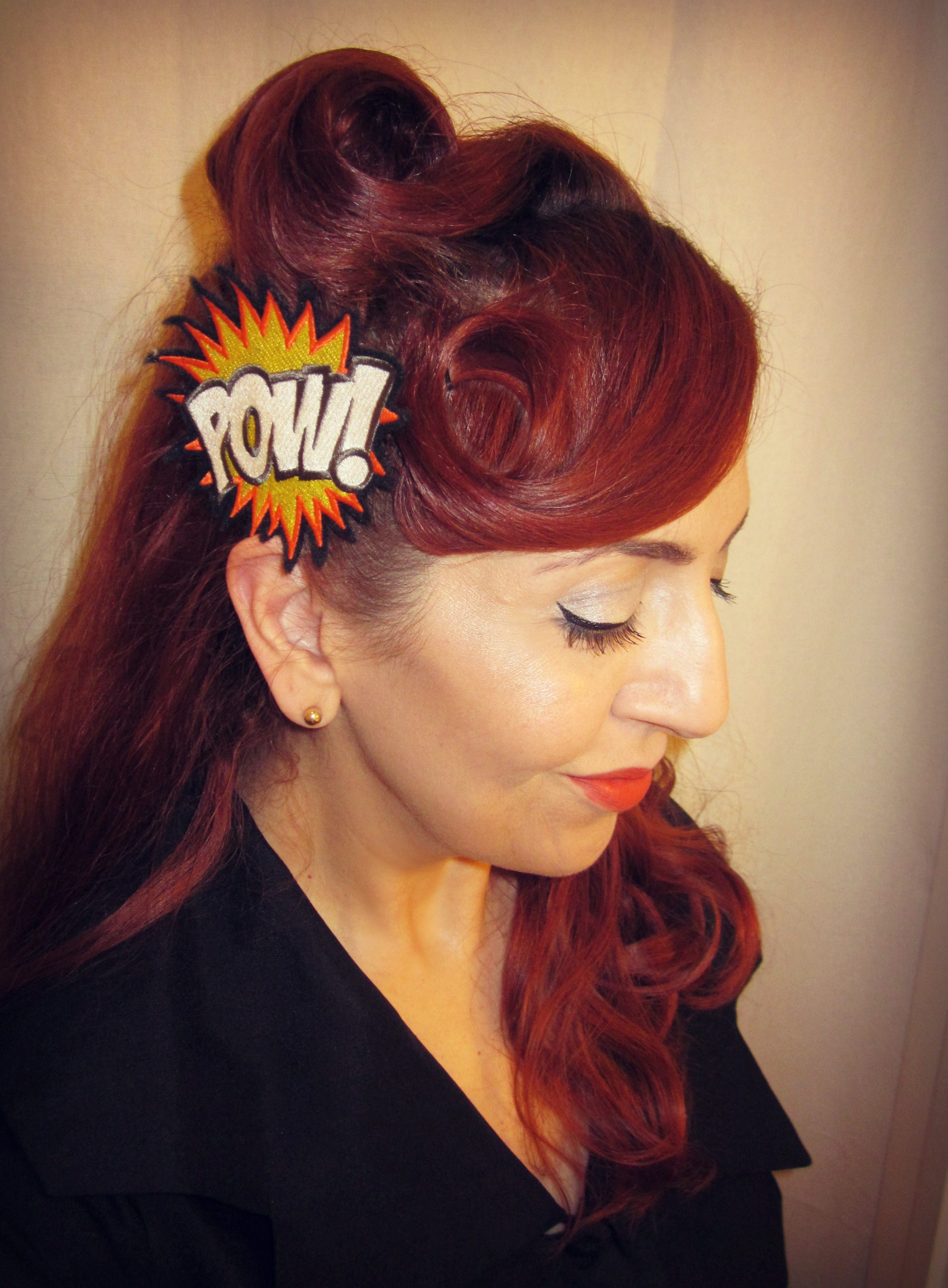 Comic Book Hair Clip