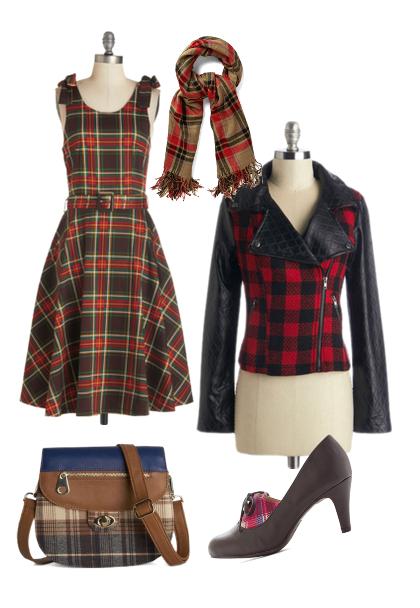 Plaid Winter Fashion