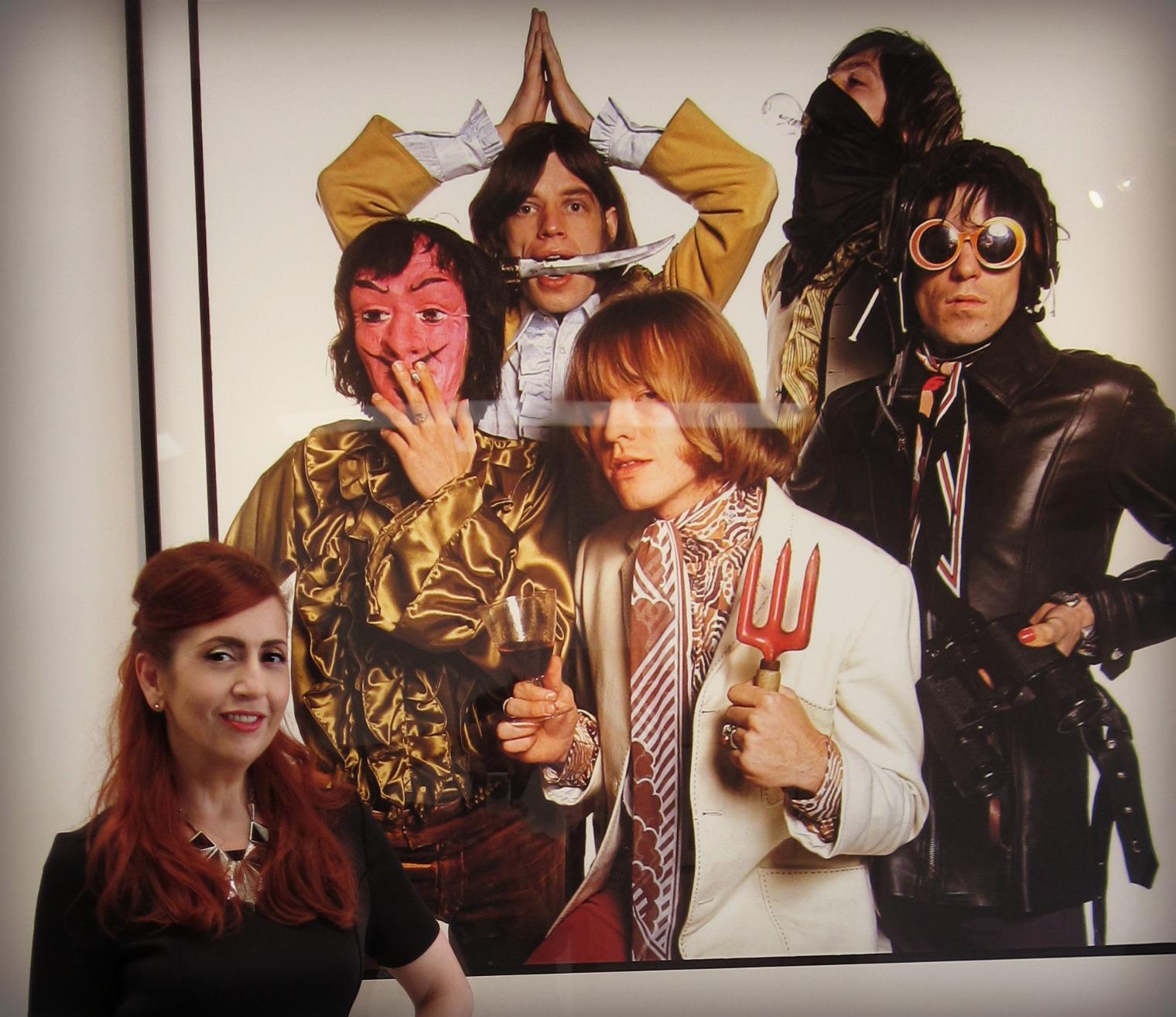 Rolling Stones Taschen Los Angeles Exhibit