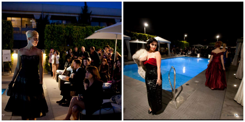 Poolside Fashion Show photos by Jenna Schoenefeld