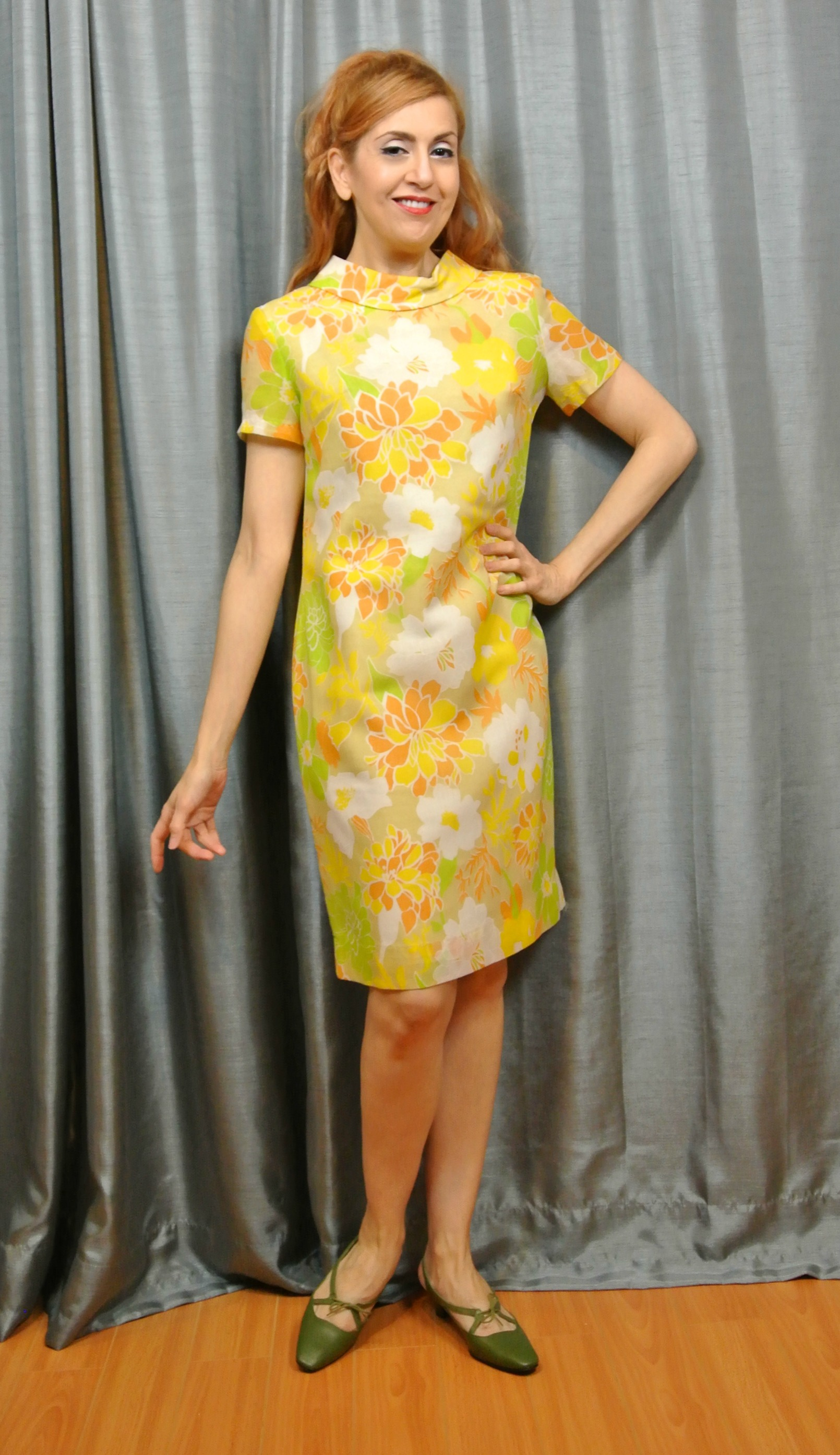 Stiletto City Store - Floral 1960s Vintage Dress