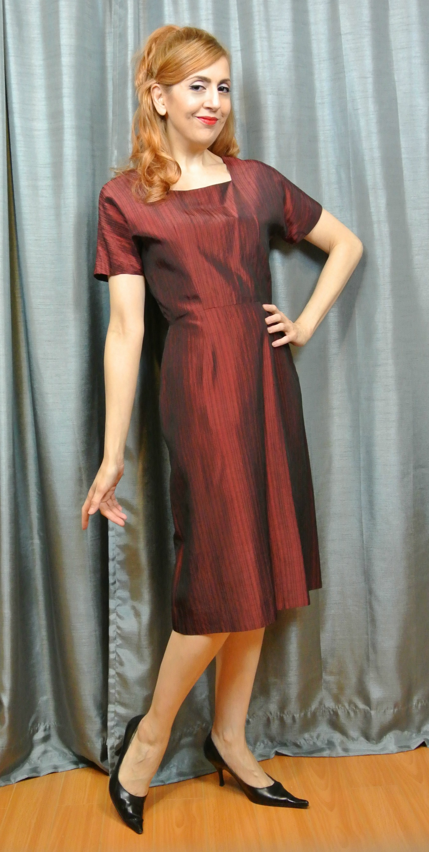 Stiletto City Store - Red Vintage Dress
