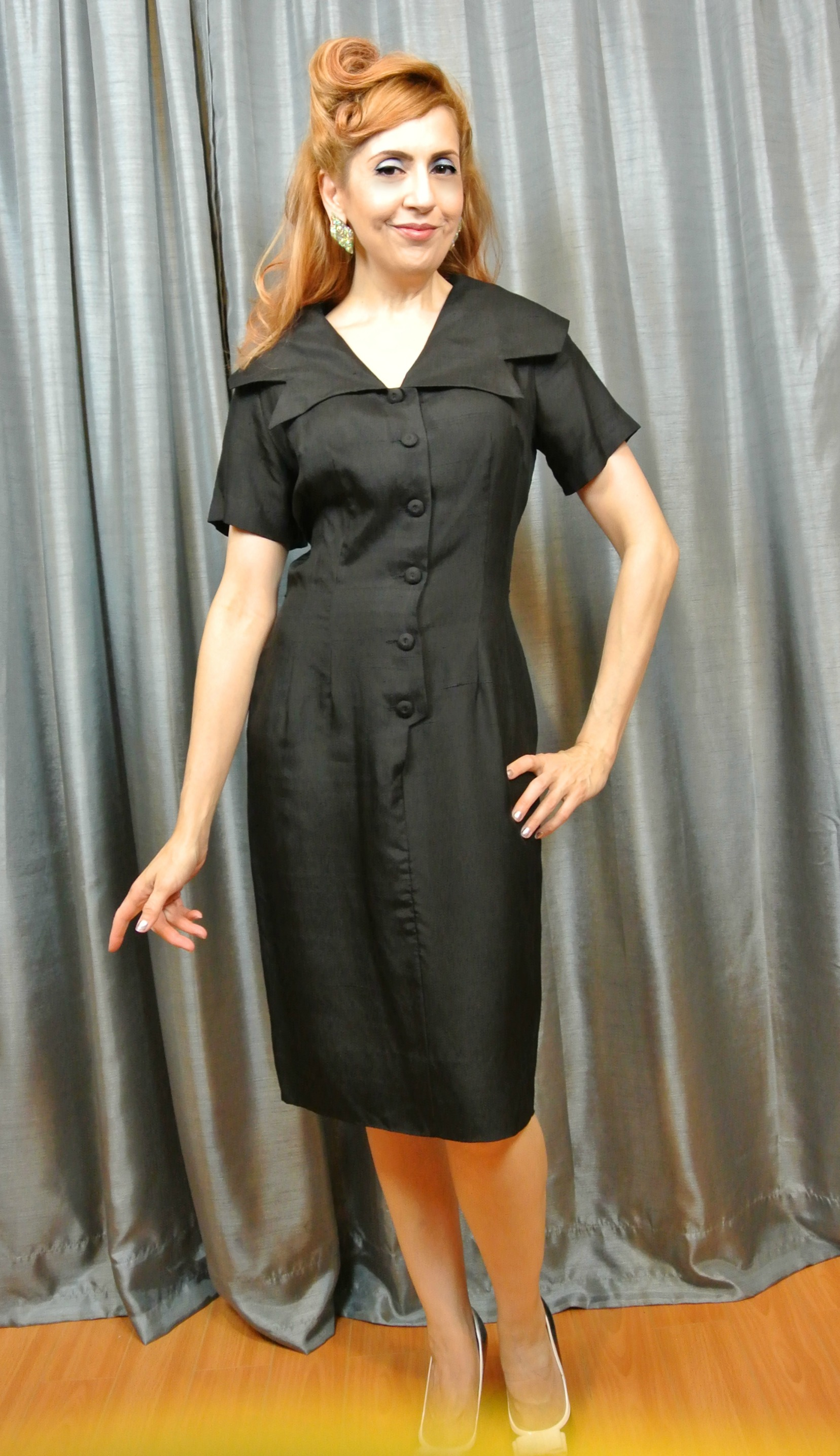 Stiletto City Store - Black Vintage Dress