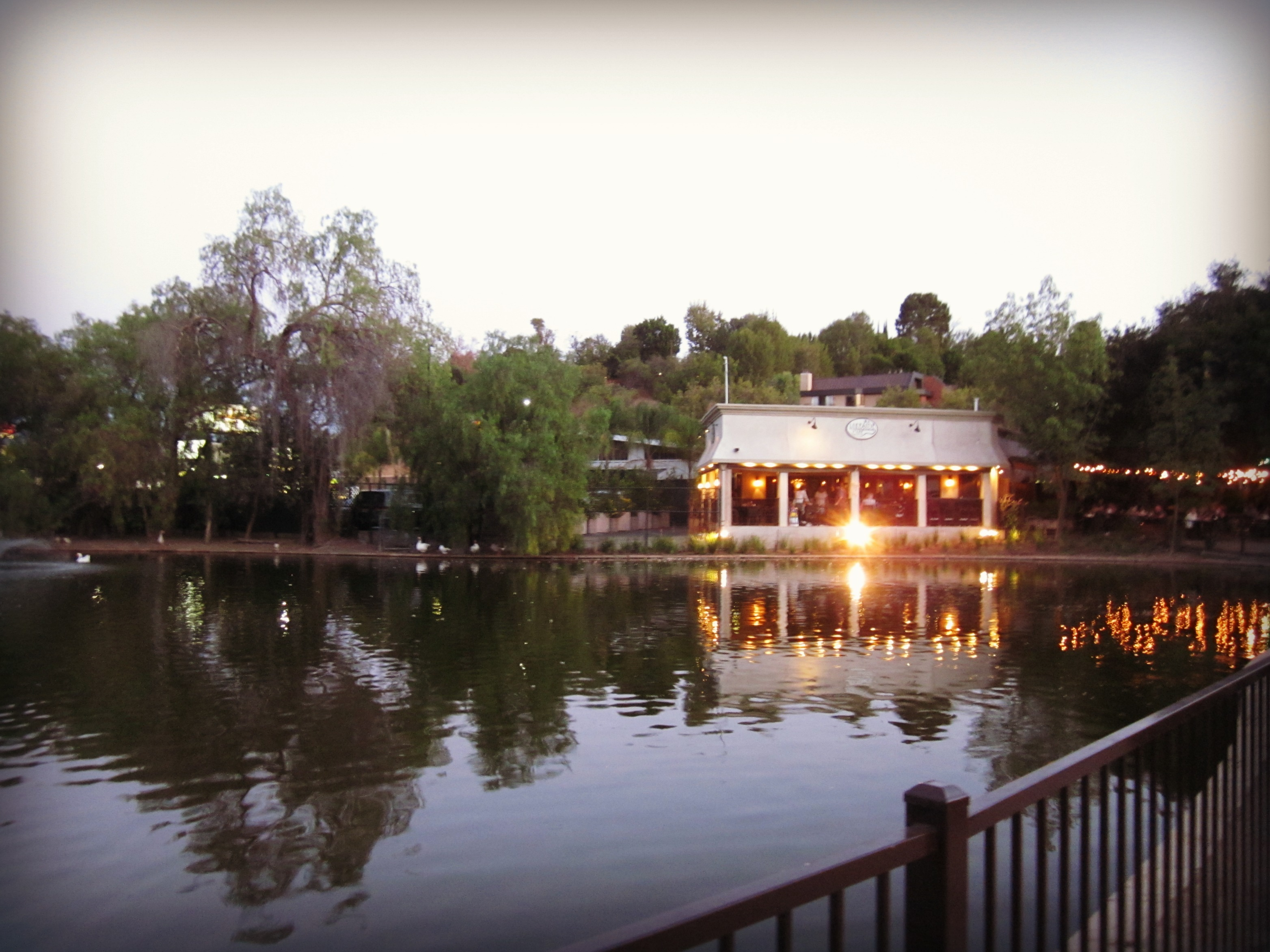 Lakeside Cafe, Encino, CA