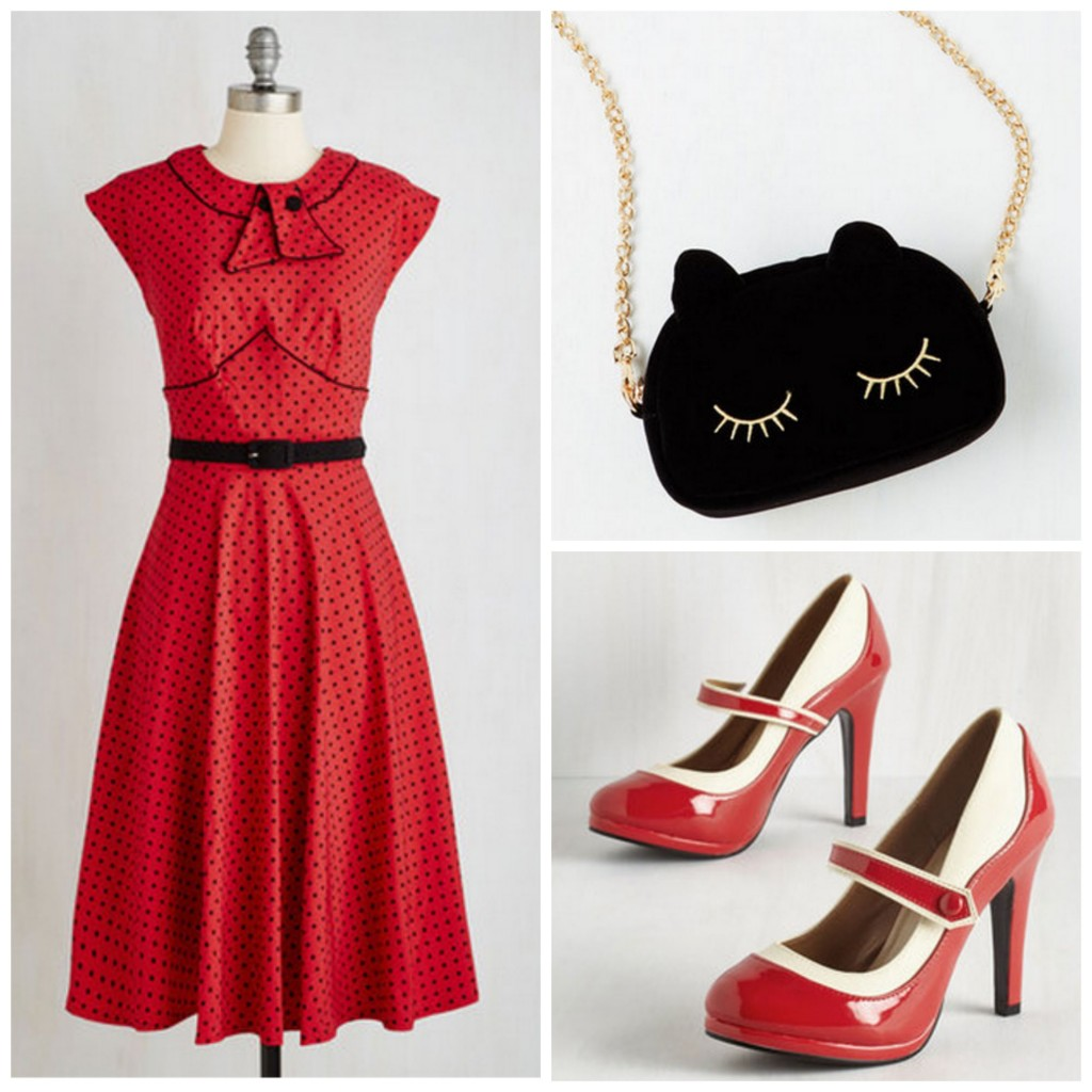 rockabilly style outfit