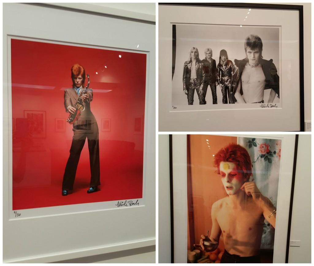 David Bowie Mick Rock Taschen Exhibit