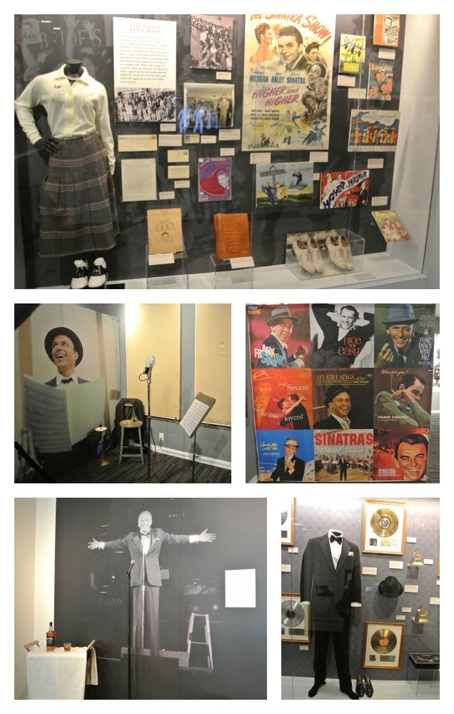 Grammy Museum Sinatra Exhibit