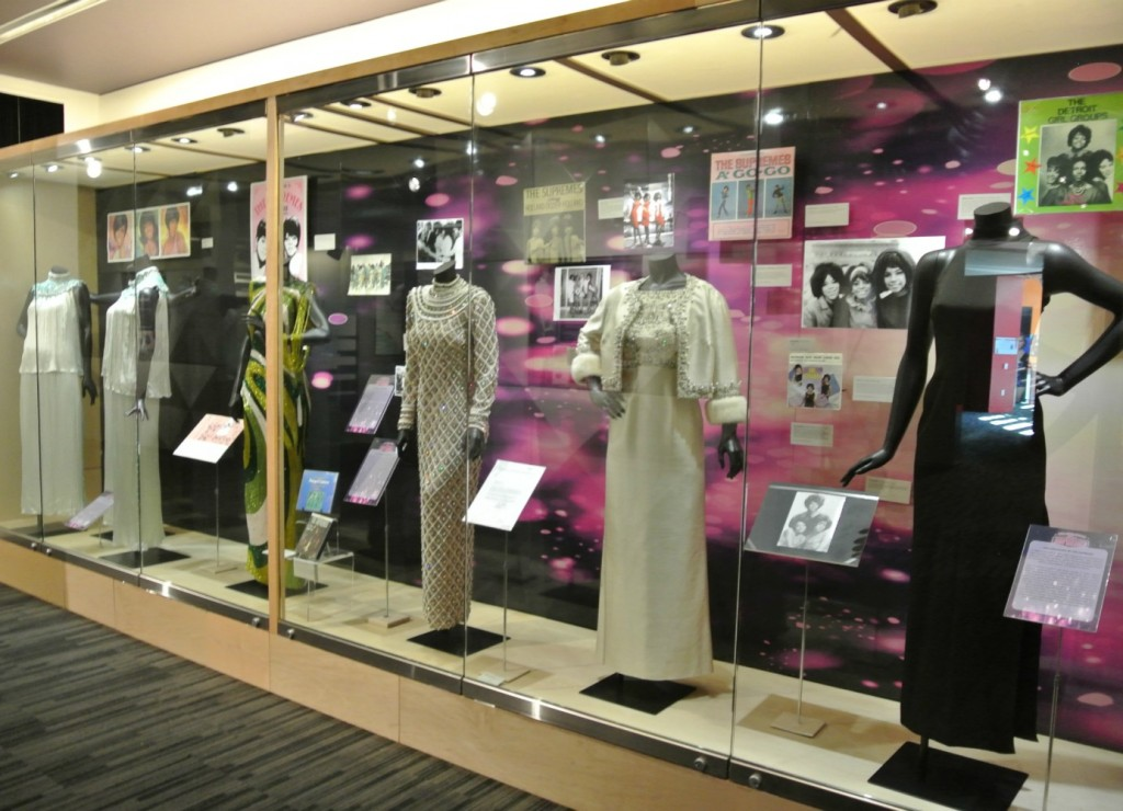 Grammy Museum Supremes Exhibit