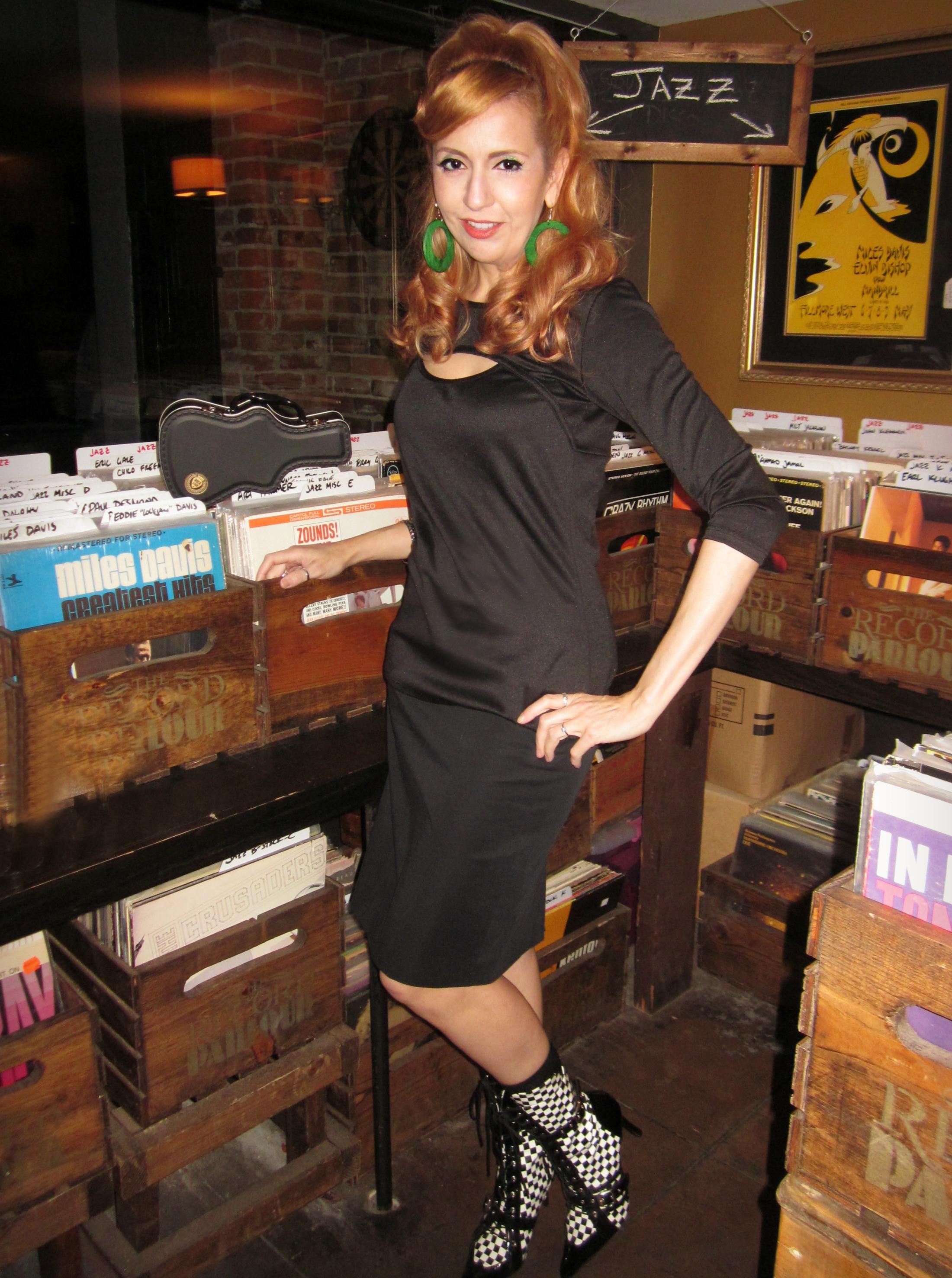 Stiletto City - Vinyl Shopping in Rocker Chic Style at the