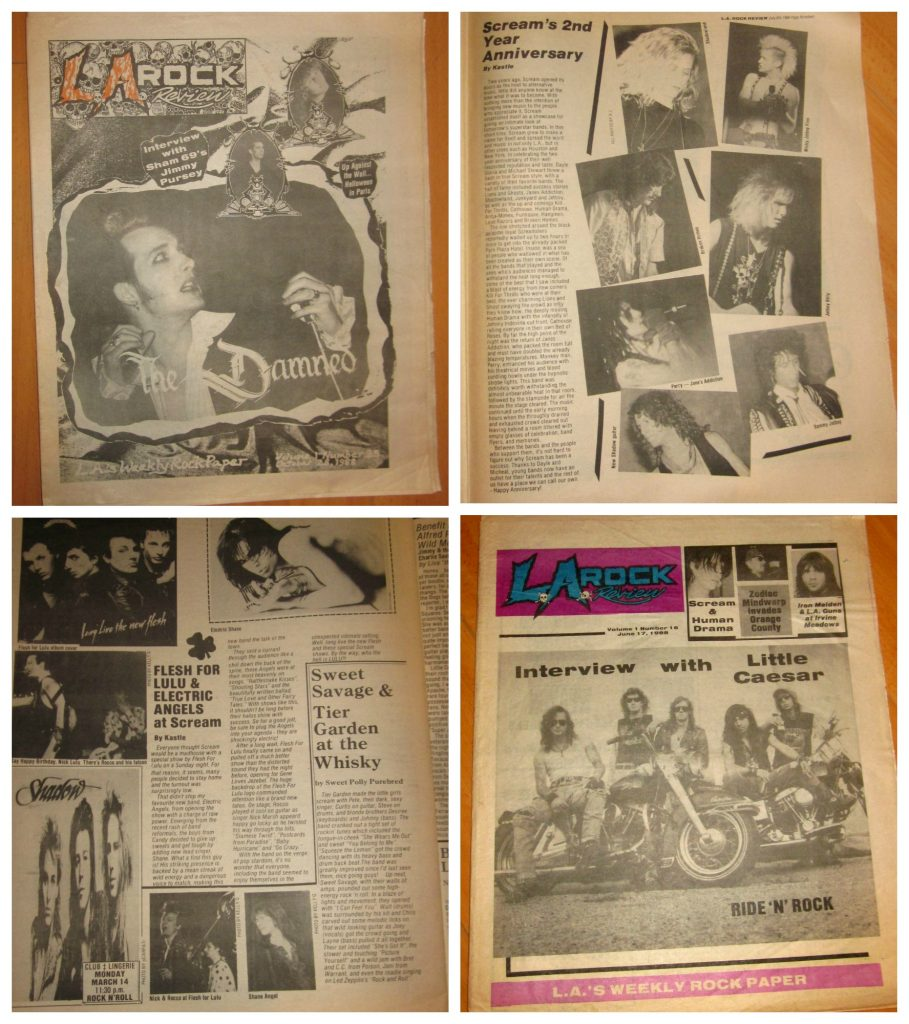 LA Rock Review, Los Angeles Music Fanzine