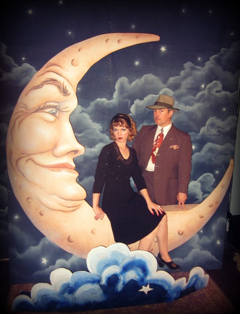 Nicole Loretta and Nathan Marsak Paper Moon Vintage Los Angeles