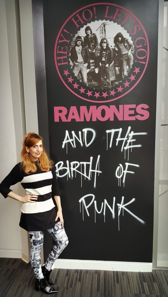 Stiletto City at Ramone Exhibit, Grammy Museum LA