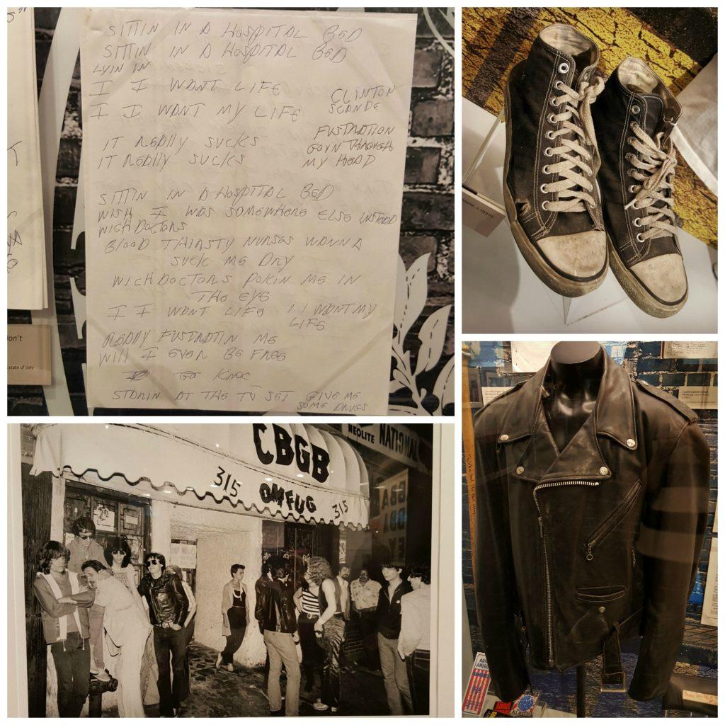 Ramones Exhibit, Grammy Museum LA