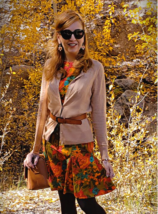 Fall fashion vintage-inspired look