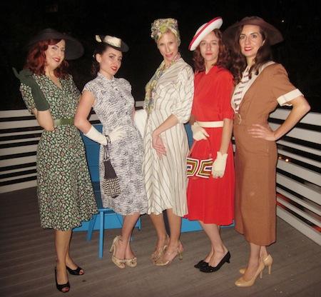 Vintage Clothing Fashion Show