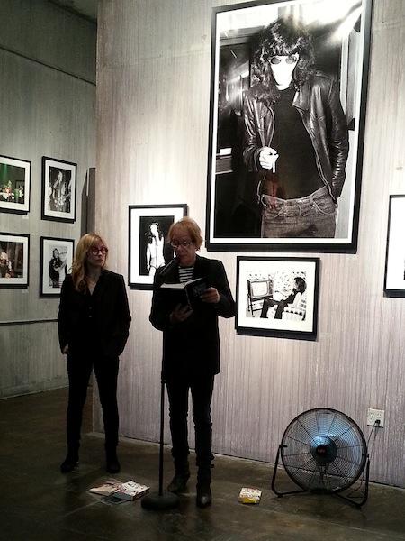 Authors Gillian McCain and Legs McNeil