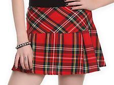 Punk Tarten Plaid Skirt