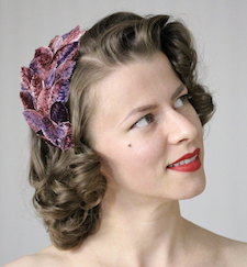 Vintage Floral Headband from Chatter Blossom