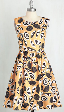 Modcloth Day in the Shade Dress