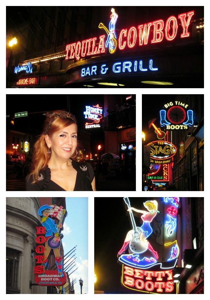 Nashville Broadway Neon