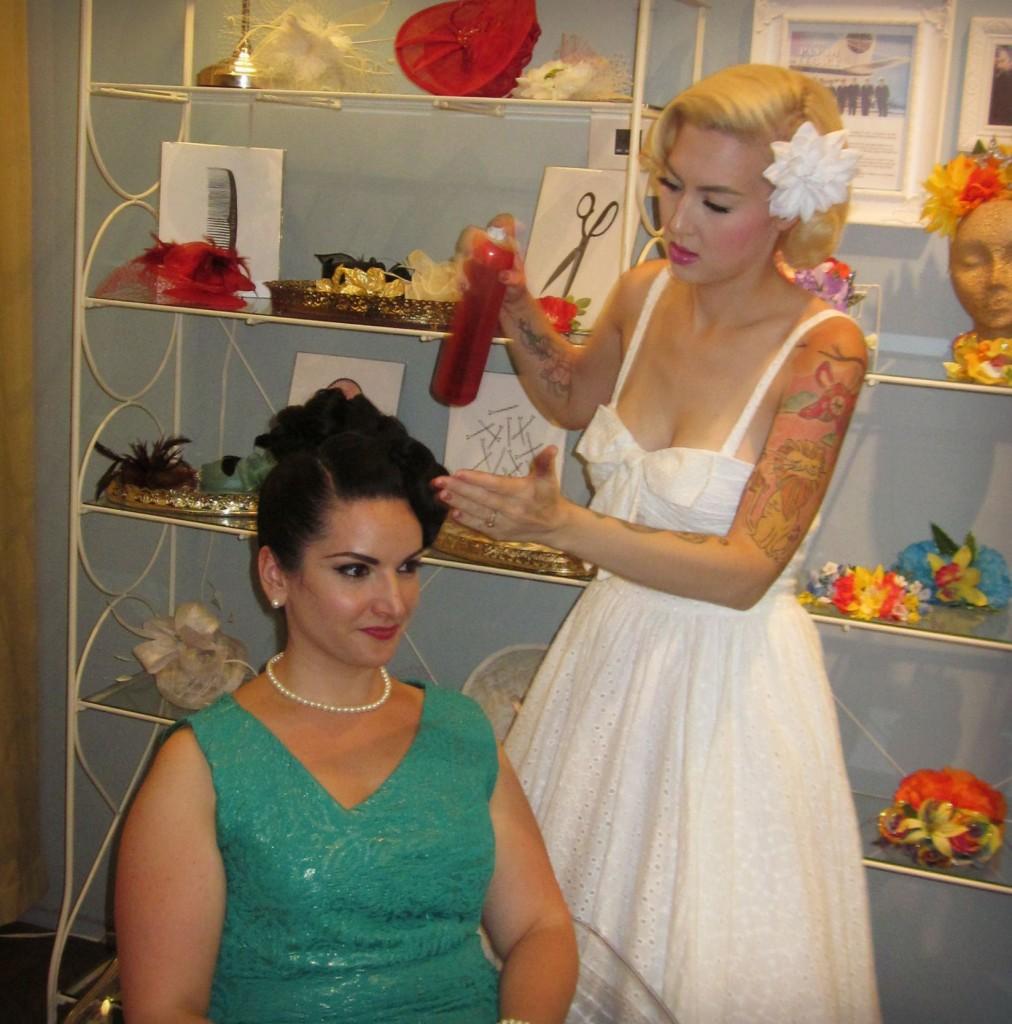 Miss Rockabilly Ruby Hair Stylist