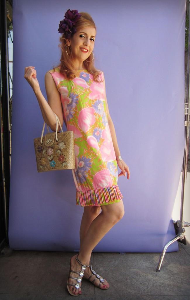 1960s Retro Fashion Look