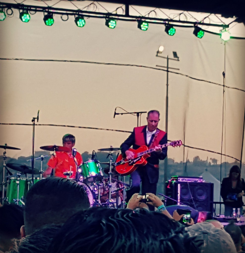 The Reverend Horton Heat at Horton's Hayride 2015