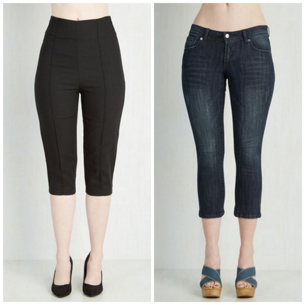 how to dress rockabilly style - capri pants