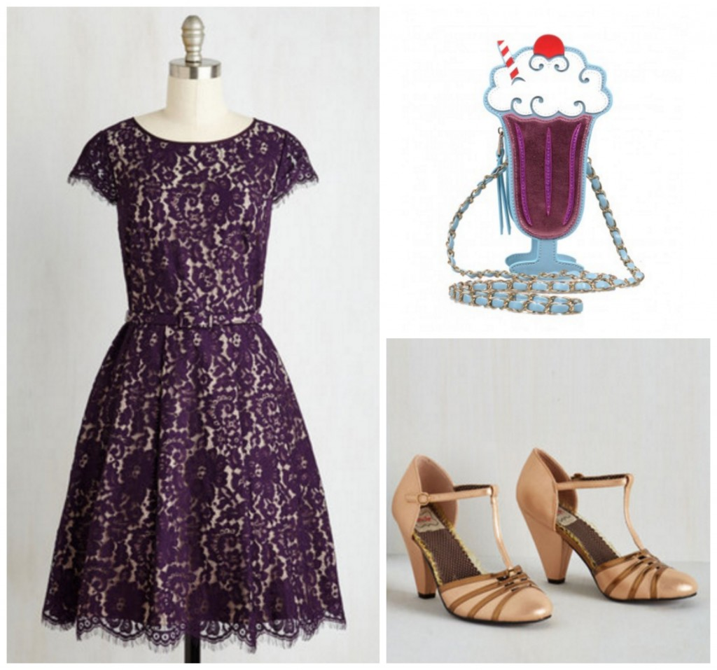 Pinup Style Date Night Look