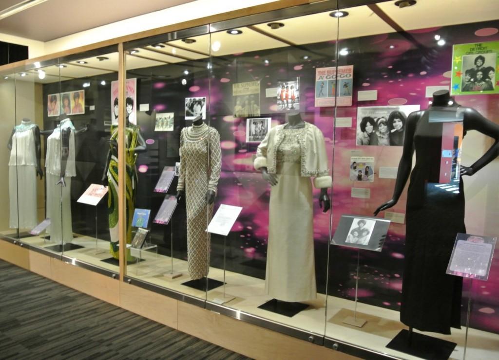 Grammy Museum Supremes Exhibit