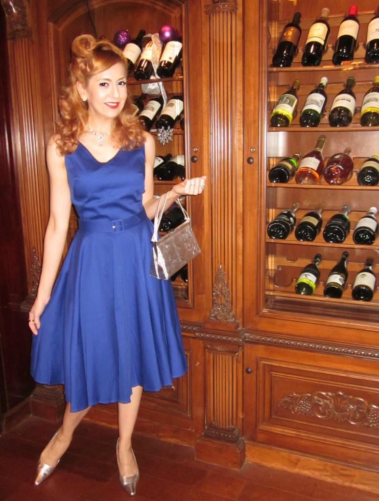 OOTD Swing Dress Pinup Style Look