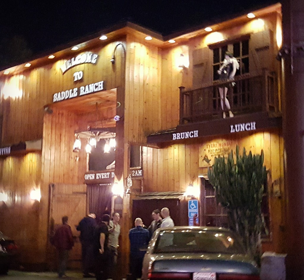 Saddle Ranch Chop House Sunset Strip