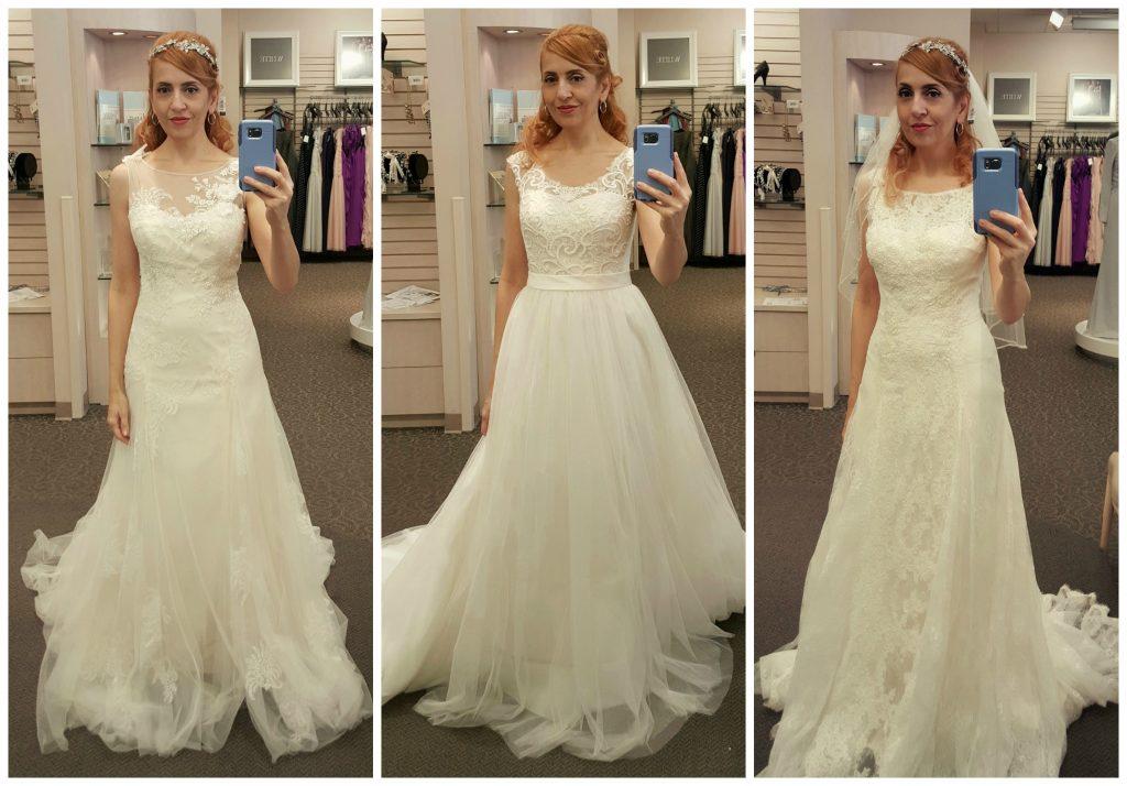 Wedding Dress Look