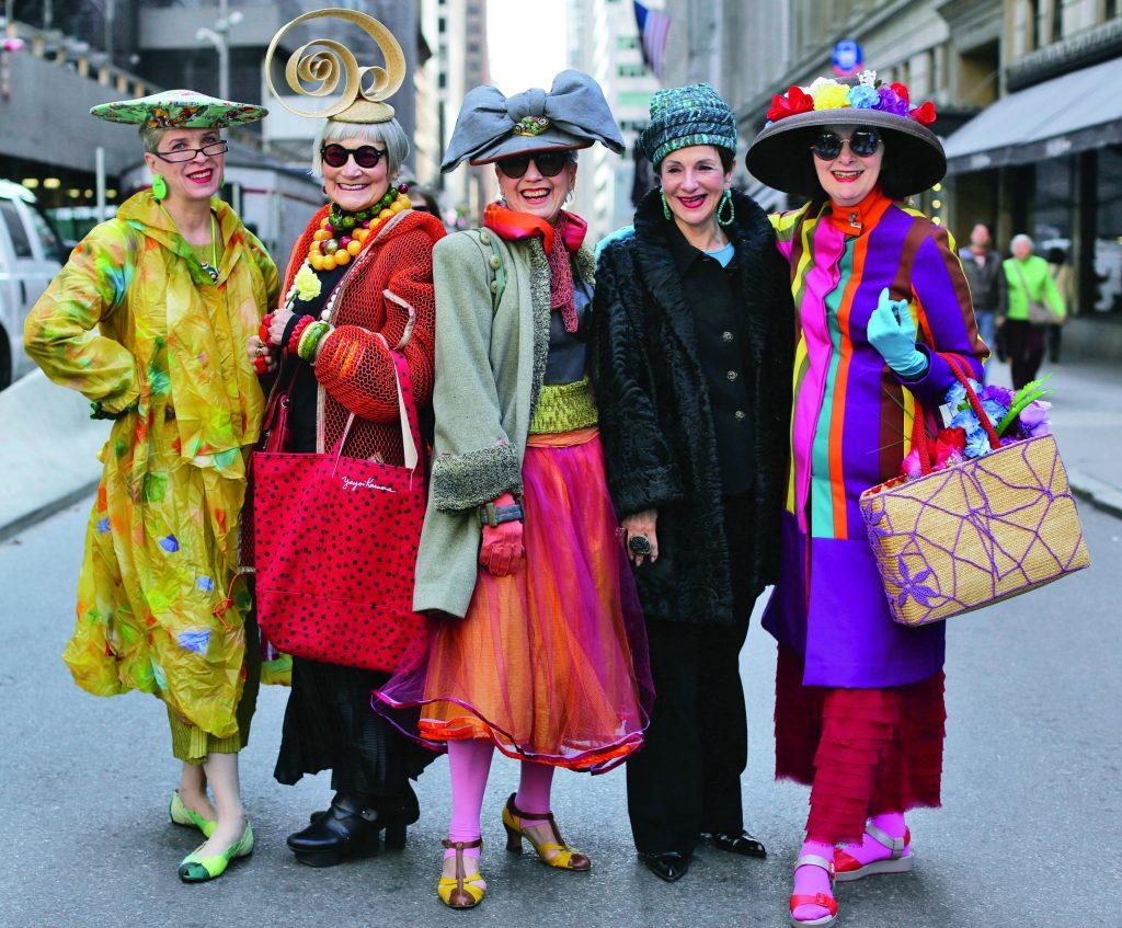 Valerie, Jean, Debra Rapoport, Diana Gabriel, Carol Markel: Advanced Style