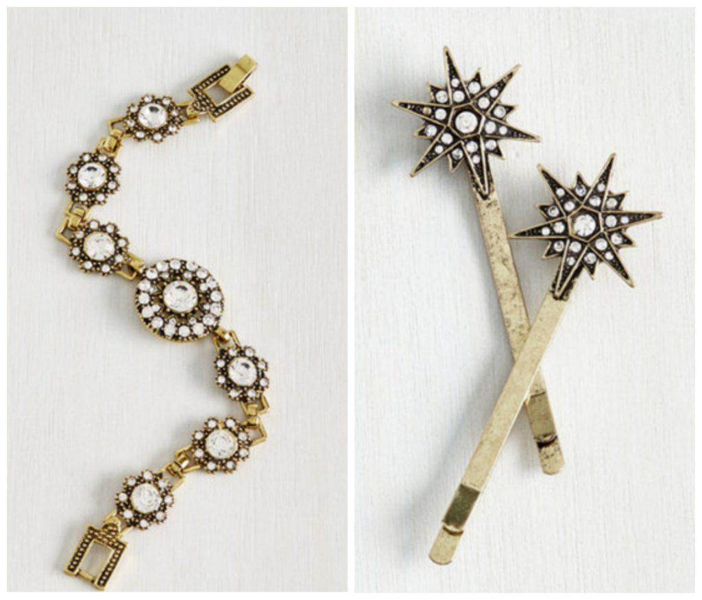 wedding look accessories