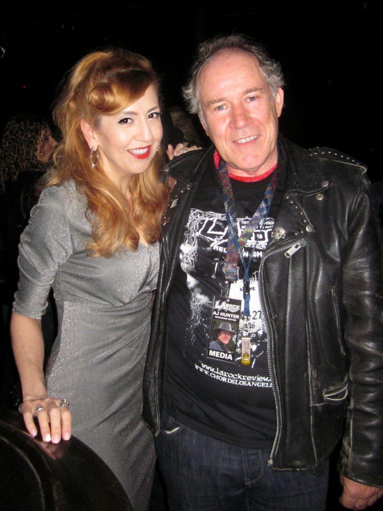 Kastle Waserman with photographer AJ Hunter