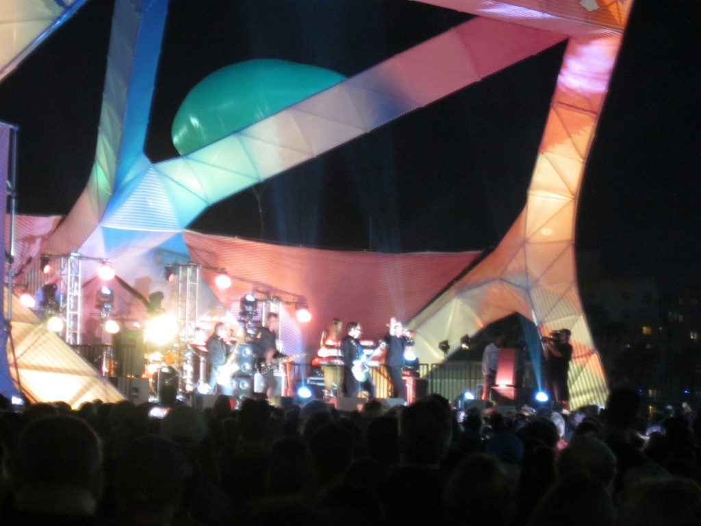 Psychedelic Furs on Santa Monica Pier 2016