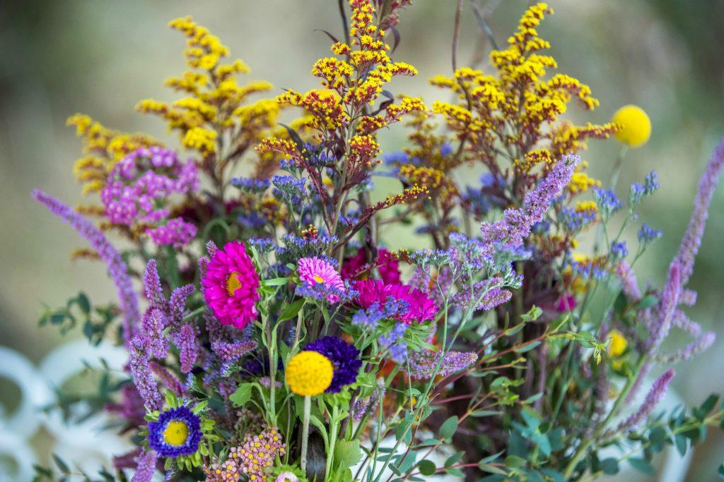 LA Flower Mart - Boho Wildflower Centerpiece