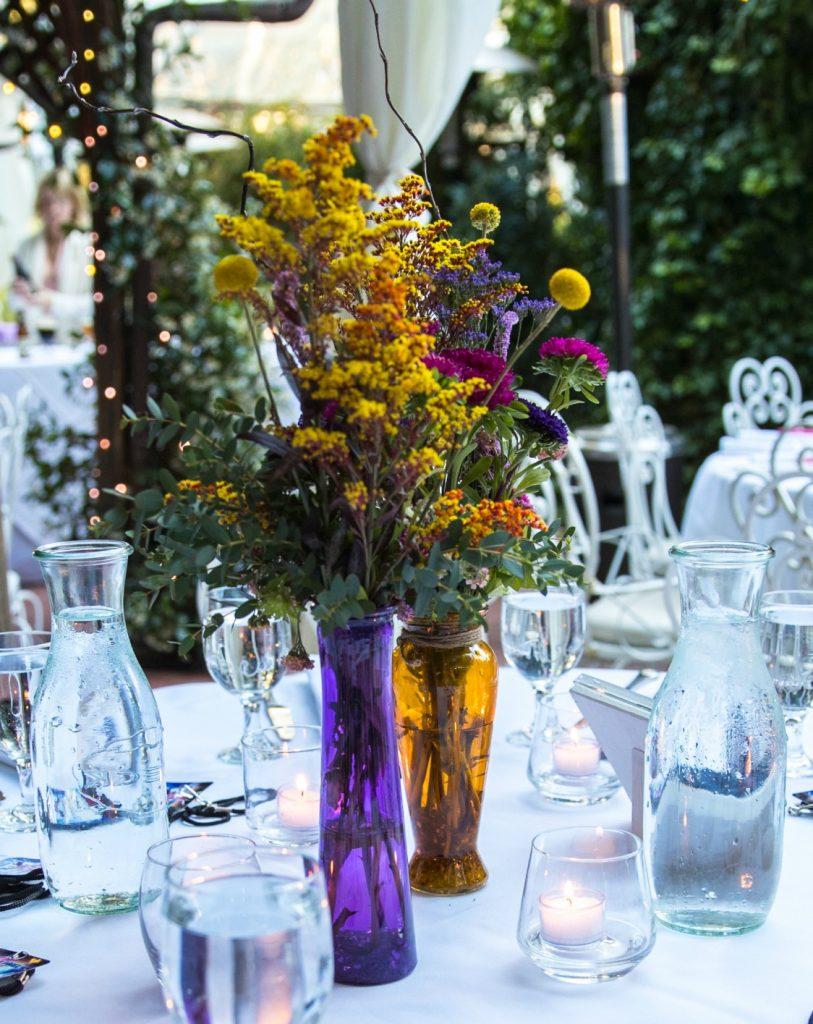 LA Flower Mart - Boho Wildflower Centerpieces