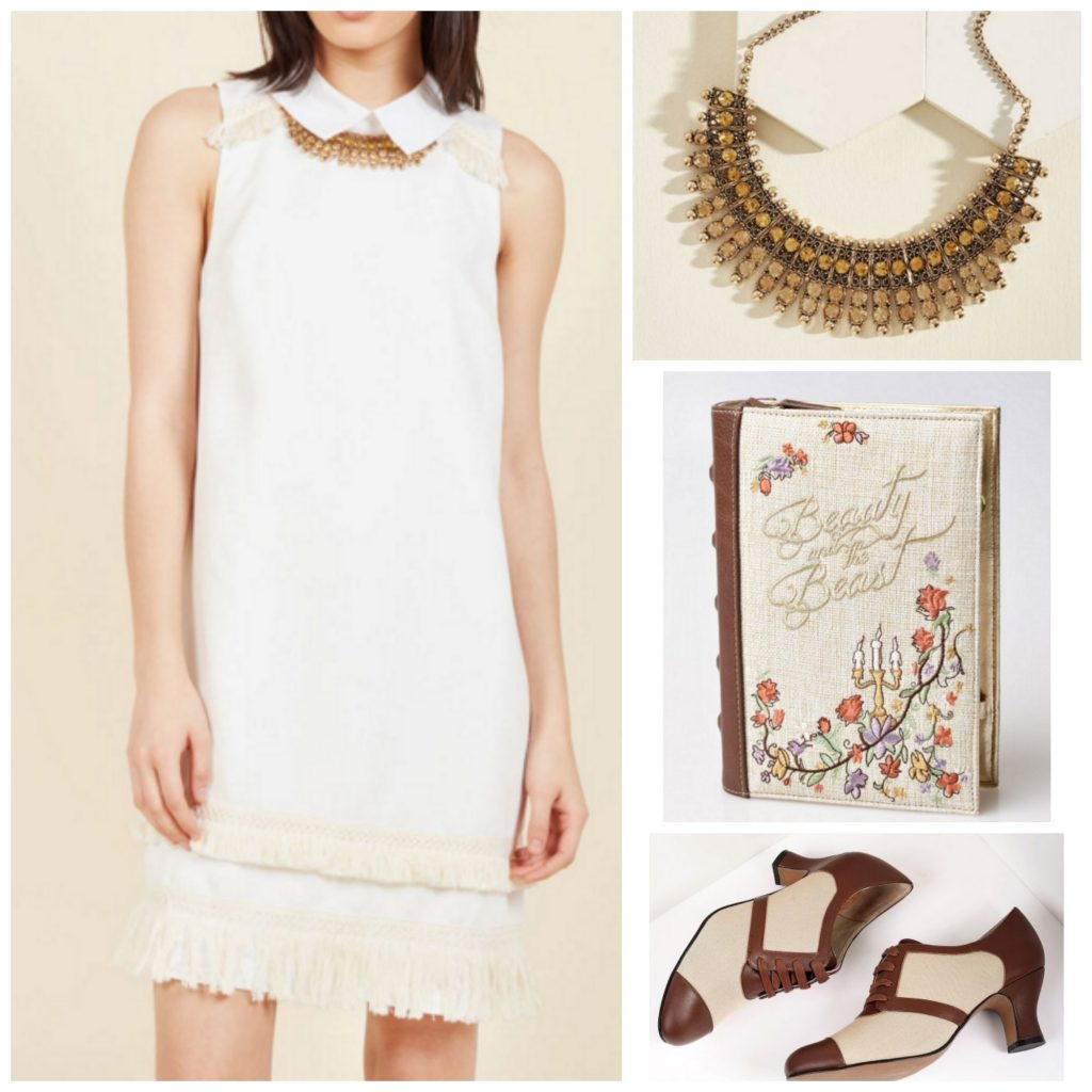 Bookworm Summer Shift Dress Outfit