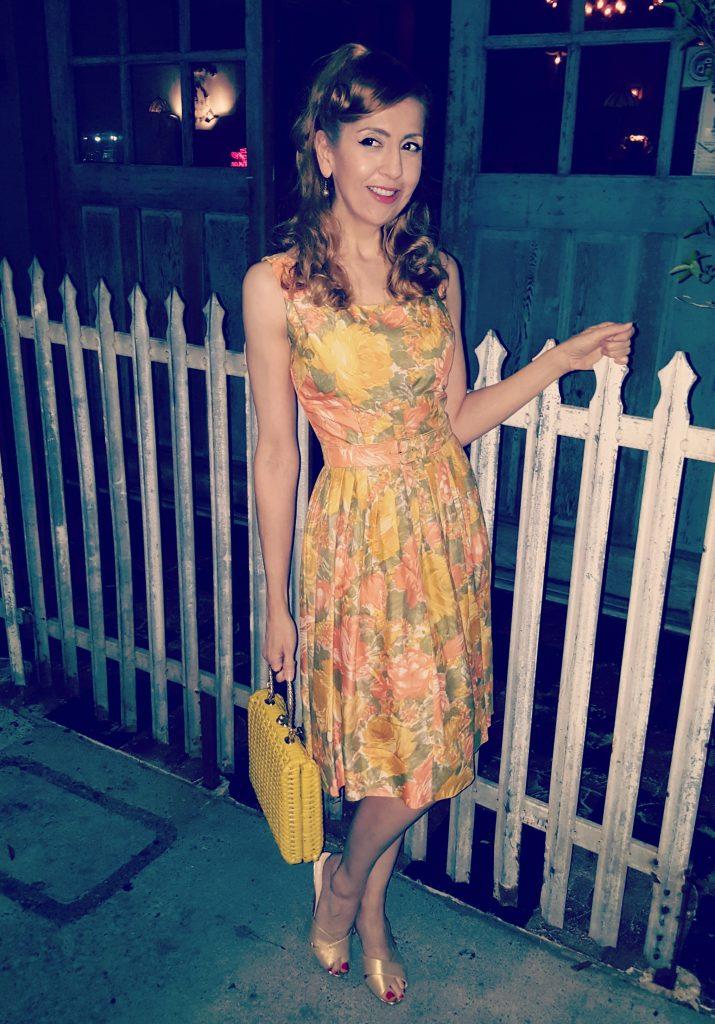 OOTD Vintage Summer Dress