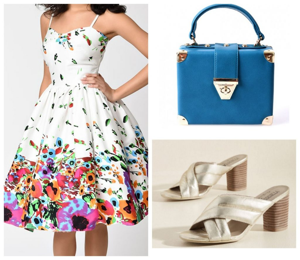Vintage Style Summer Dress Outfit