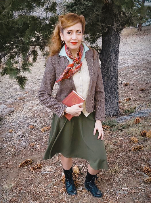 Book-inspired fashion: Little Women Outfit