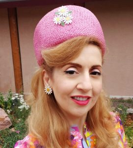 1960s pink pillbox hat