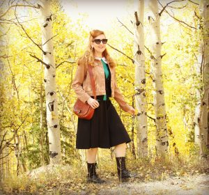 Vintage Style Fall Outfit